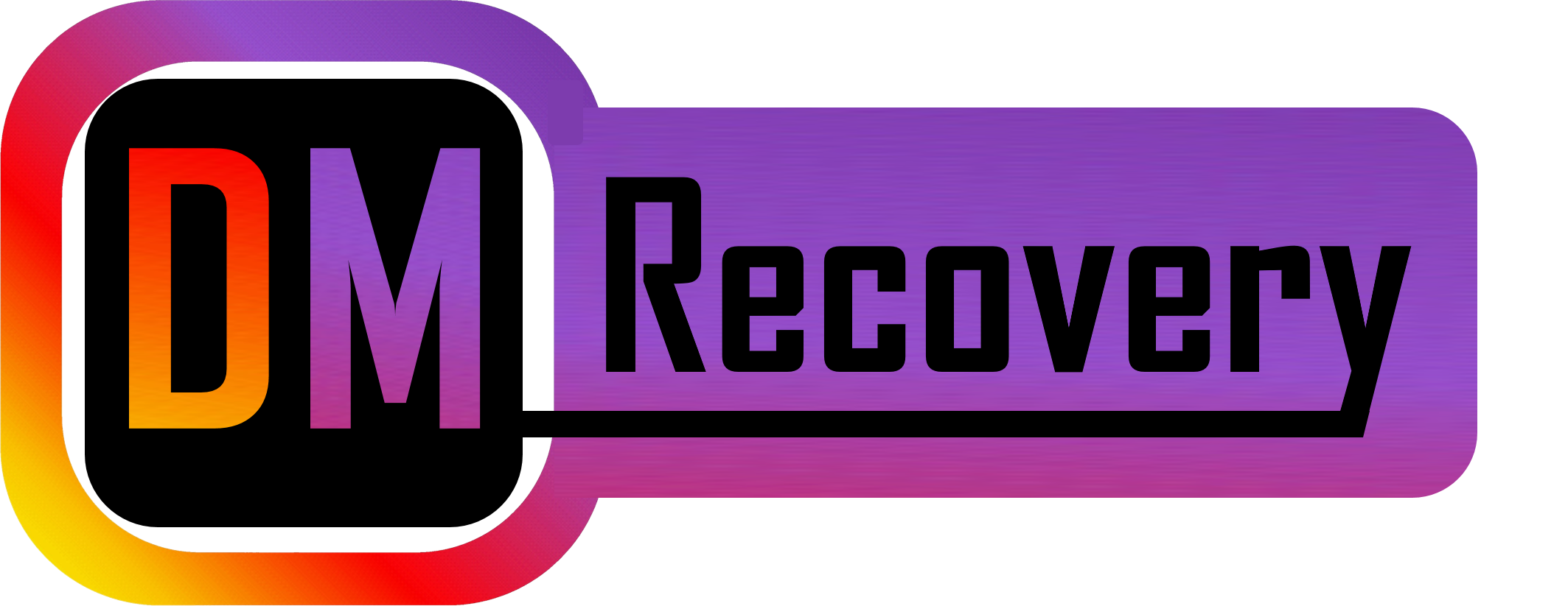 DM Recovery Logo, Instagram Deleted messages recover tool, Recover deleted insta messages, Insta recovery -